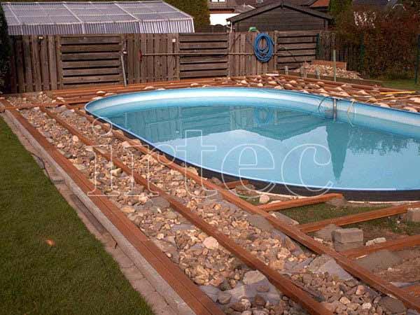Веранда с бассейном своими руками 72